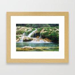 Landscape. Framed Art Print