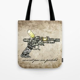 Raygun this is not a pipe Tote Bag