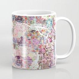 Tucson map flowers Coffee Mug