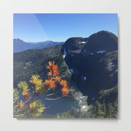 British Columbia Mountains Metal Print