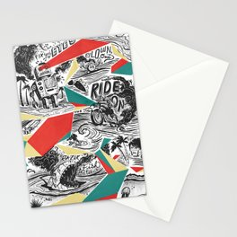Mechtopia Stationery Cards