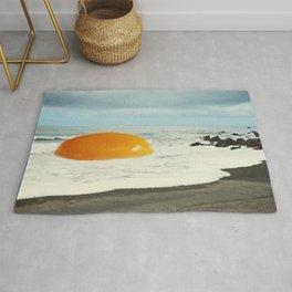Beach Egg - Sunny side up Rug