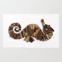 seahorse Area & Throw Rugs featuring Seahorse by Anna Milousheva