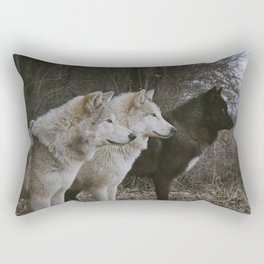 Cana, Logan, and Luther Rectangular Pillow