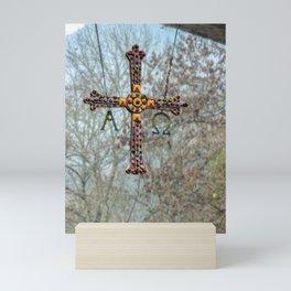 Asturias Christ's cross Mini Art Print