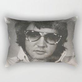 Elvis Presley Sketch 2 Rectangular Pillow