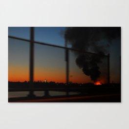 Burn Baby Burn Canvas Print