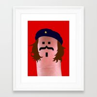 che Framed Art Prints featuring che by Panic Junkie
