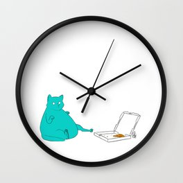 One More Slice Wall Clock