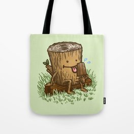 The Popsicle Log Tote Bag