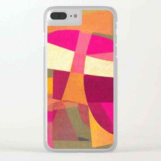 Confusion in Paradise Clear iPhone Case