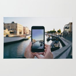 Smartphone photography Rug