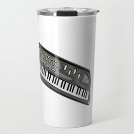 Electric Keyboard Piano Travel Mug