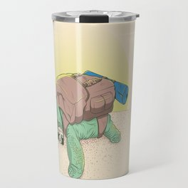 Backpacker 4 life  Travel Mug