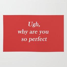 ugh: red Rug