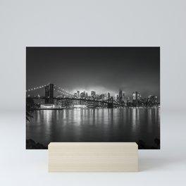 Bright Lights of New York Mini Art Print