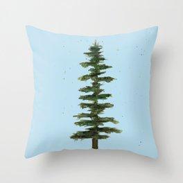 Pine tree Throw Pillow