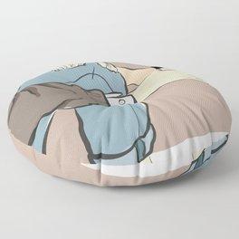 Fashion Latte To Go Floor Pillow