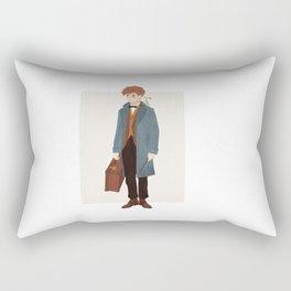 Newt Scamander Rectangular Pillow