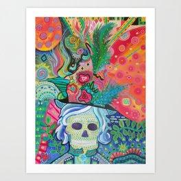 End of Her Beginning Art Print