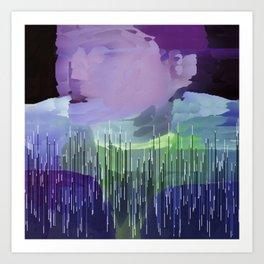 EliB concealed Art Print
