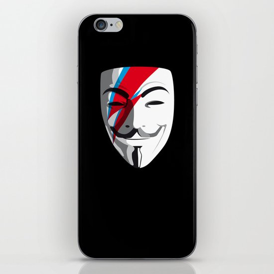Who wants to be Anonymous? Let's be Fabulous! Viggy Starfawkes. iPhone & iPod Skin