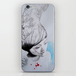 Hidden trees iPhone Skin