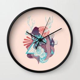 Springtime Nymph Wall Clock