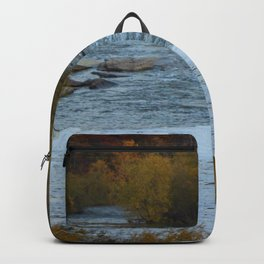 Fall at the Fox River Backpack