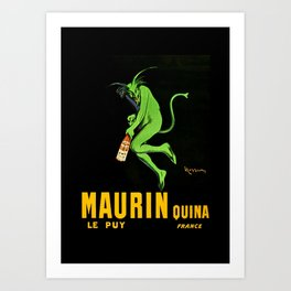 Leonetto Cappiello Maurin Apertif Advertising Poster Art Print