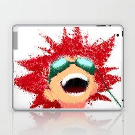COWBOY BEBOP Edward Painting | Color Splatter Style Laptop & iPad Skin