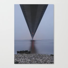 Humber bridge Canvas Print