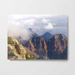 Bright Angel Point Metal Print