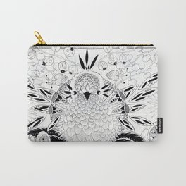 Mama Bird with eggs Carry-All Pouch