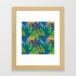 Laia&Jungle II Framed Art Print