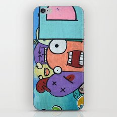 Graffiti guys iPhone & iPod Skin