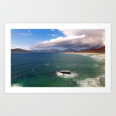Sound of Taransay Art Print