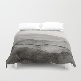 Ink Layers Duvet Cover