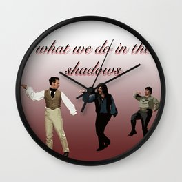 What We Do in the Shadows 5 Wall Clock