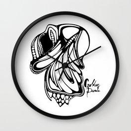 12. Fish Art Wall Clock