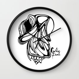 Golden Pirate - 12. Fish Art Wall Clock