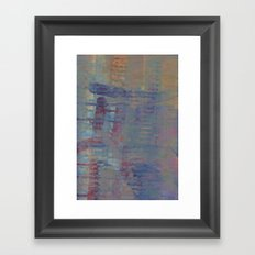 tell me (the hurting) Framed Art Print