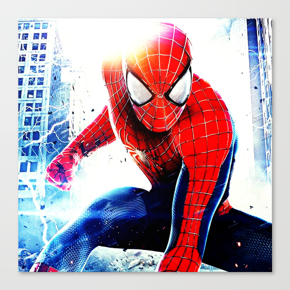 Spider Man Canvas Print by Verta43 CNV8825825
