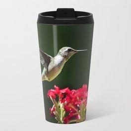 Hovering Hummingbird Travel Mug