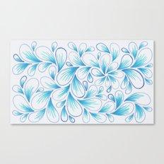 Cerulean Spray  Canvas Print