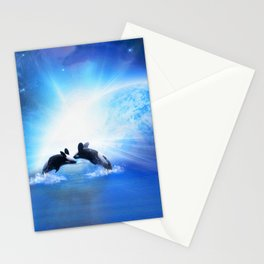 Orca Dance Stationery Cards