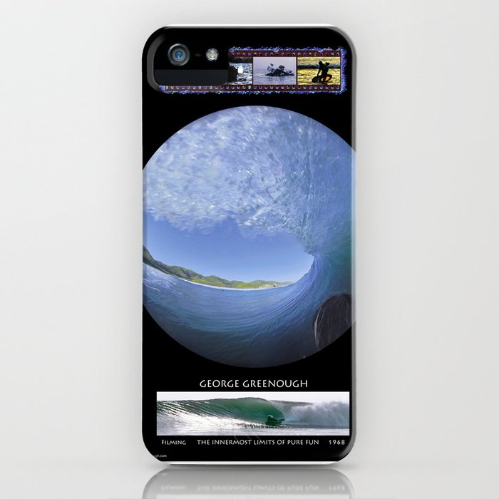 George Greenough Filming 1968 (6 photo composite) iPhone Case