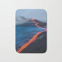 WHEN THE BEACH TURNS RED Bath Mat