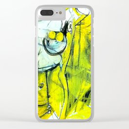 Body Language Clear iPhone Case