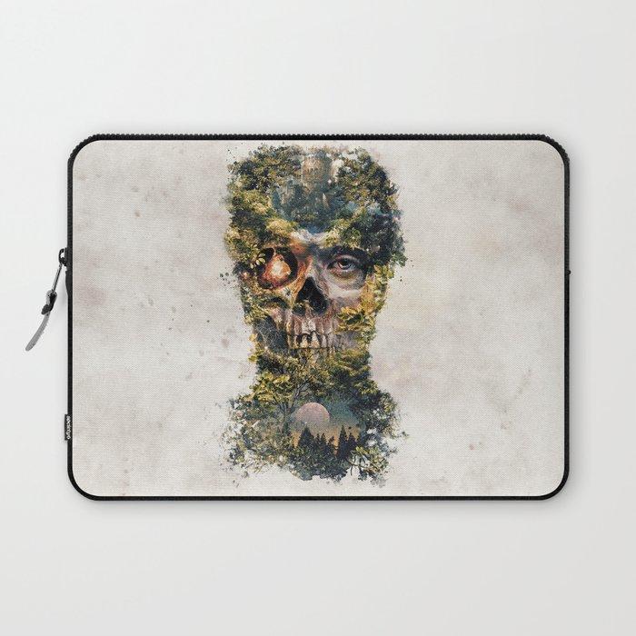 The Gatekeeper Surreal Dark Fantasy Laptop Sleeve